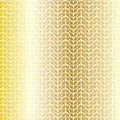 抽象的な黄金パターン — ストックベクタ
