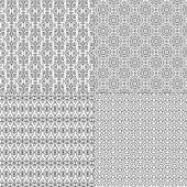 Wrought Iron Patterns set — Stock Vector