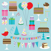 Birthday Clip art — Stock Vector
