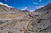 Engilchek glacier — Stock Photo