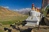 Nepalese settlement — Foto Stock