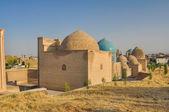 Domes in Samarkand — Foto Stock