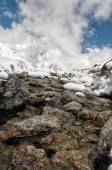 Himalayas near Kanchenjunga — Stock Photo