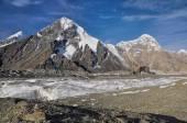 Engilchek glacier in Kyrgyzstan — Stock Photo