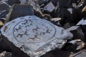 Ancient pictograms — Foto Stock