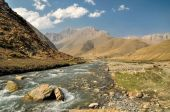 Nepalese river — Stock Photo