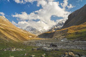 Valley in Himalayas — Stock Photo
