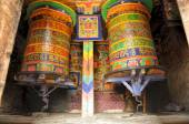 Rodas de oração — Fotografia Stock