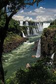 Iguazu-fälle — Stockfoto