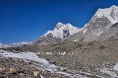 Glacier in Kyrgyzstan — Stock Photo