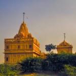 Temple in Thar Desert — Stock Photo #63713153