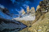 Torres del Paine scenery — Fotografia Stock