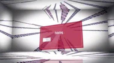 Data delete — Stock Video