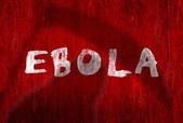Ostrzeżenia o wirusie Ebola — Zdjęcie stockowe