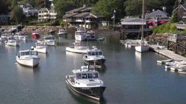 Perkins Cove, Ogunquit, Maine — Stock Video