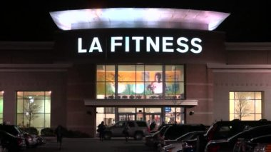 La Fitness Exercise Club — Stock Video