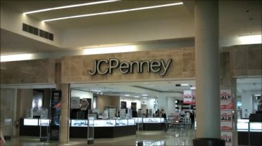 Jc Penney Mall — Stock video