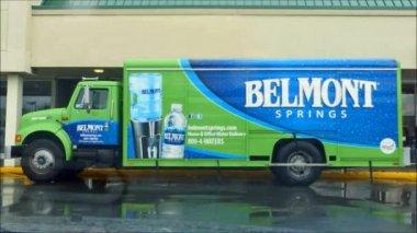 Belmont Springs Truck — Stock Video
