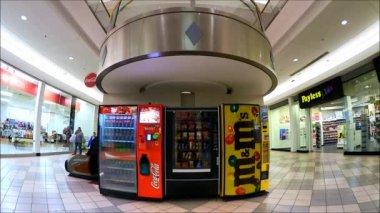 Vending Snack Machines — Stock Video