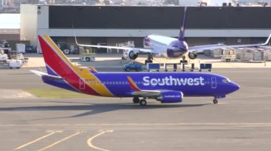 Southwest Airlines new colors — Stock Video