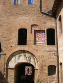 The Medieval Towers of San Gimignano in Tuscany Italy — Stock Photo