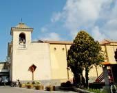 Church at Termini on the Sorrento Peninsular Italy — Stock Photo