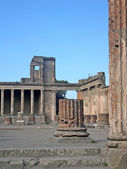 The ruined city of Pompeii in Italy — Stock Photo