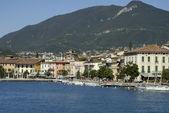 Riva Del Garda is a fortified Town on Lake Garda — Stock Photo