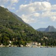 Gardone Riviera on Lake Garda Italy — Stock Photo #55241159
