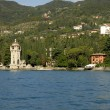 Gardone Riviera on Lake Garda Italy — Stock Photo #55241227
