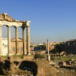 The Ancient Forum in Rome Italy — Stock Photo #55241737