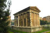 Temple of Vesta in Rome Italy — Stock Photo