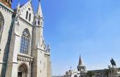 St Matthias Cathedral in Budapest Hungary — Stock Photo