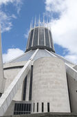 The Catholic Cathedral in Liverpool England — Stockfoto