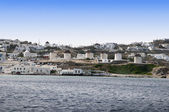 Chora the Main Town on the Island of Mykonos Greece — Stock Photo