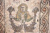 10 yüzyıla denizkızı Ravenna İtalya kilisede mozaiği — Stok fotoğraf