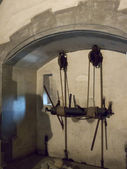 Kitchen in the Borgo Medievale the medieval castle that is a modern reproduction in Turin Italy — ストック写真