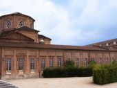 Venaria Reale Palace and Gardens in the Country around Turin Italy — Stock Photo