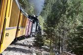 The Narrow Gauge Railway from Durango to Silverton in Colorado USA — Stockfoto