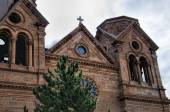 The Cathedral in Santa Fe New Mexico USA — Stock Photo