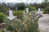 Boot Hill cemetery in Tombstone Arizona USA — Stock Photo