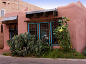 Old Town of Albuqueque with its many galleries in New Mexico USA — Stock Photo