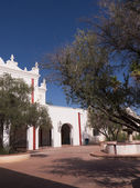 San Xavier del Bac the Spanish Catholic Mission Tucson Arizona — Photo