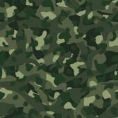 Green mountain disruptive camouflage  seamless pattern — Stock Vector