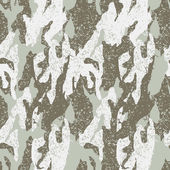 Snow distressed camouflage seamless pattern — Vetor de Stock