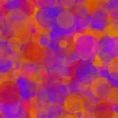Abstrakt geometrisk bakgrund som består av överlappande runda element — Stockvektor