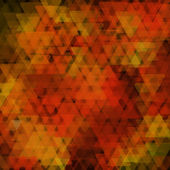 Abstact geométrico compuesto de elementos triangulares que se superponen — Vector de stock