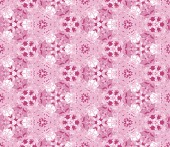 Seamless pattern composed of color abstract elements located on a white background — Vettoriale Stock