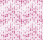 Seamless pattern on a white background. Has the shape of a wave. Consists of geometric elements in color. — Vector de stock