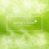 Green abstract background , vector illustration — Stock Vector